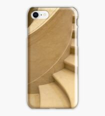 Curving staircase iPhone Case/Skin