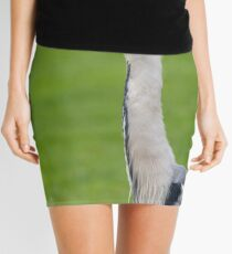The Watchful Heron Mini Skirt