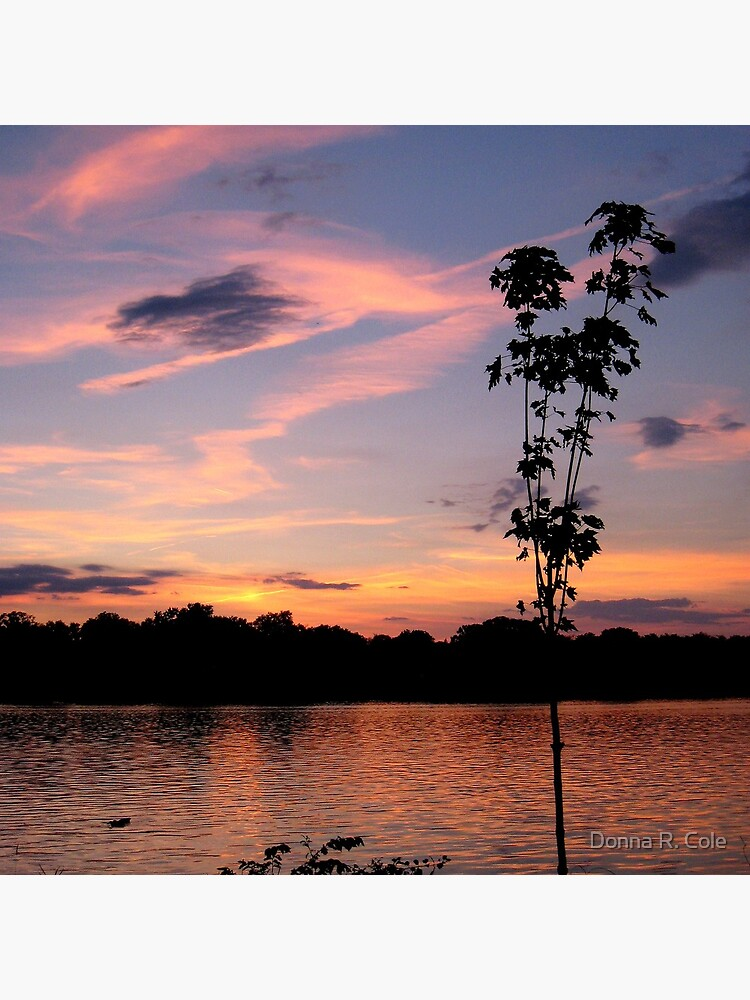 Sunset over the Rock River by alwaysdrc