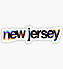 New Jersey 3D Sticker