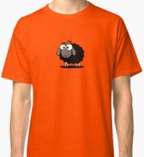Black Sheep Cartoon Funny T-Shirt Sticker Duvet Cover Classic T-Shirt