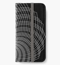 Wirbel iPhone Flip-Case/Hülle/Skin