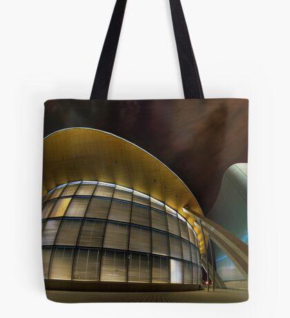 Architectural Warp Tote Bag