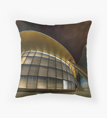 Architectural Warp Throw Pillow