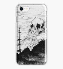 Skull mountain. iPhone Case/Skin