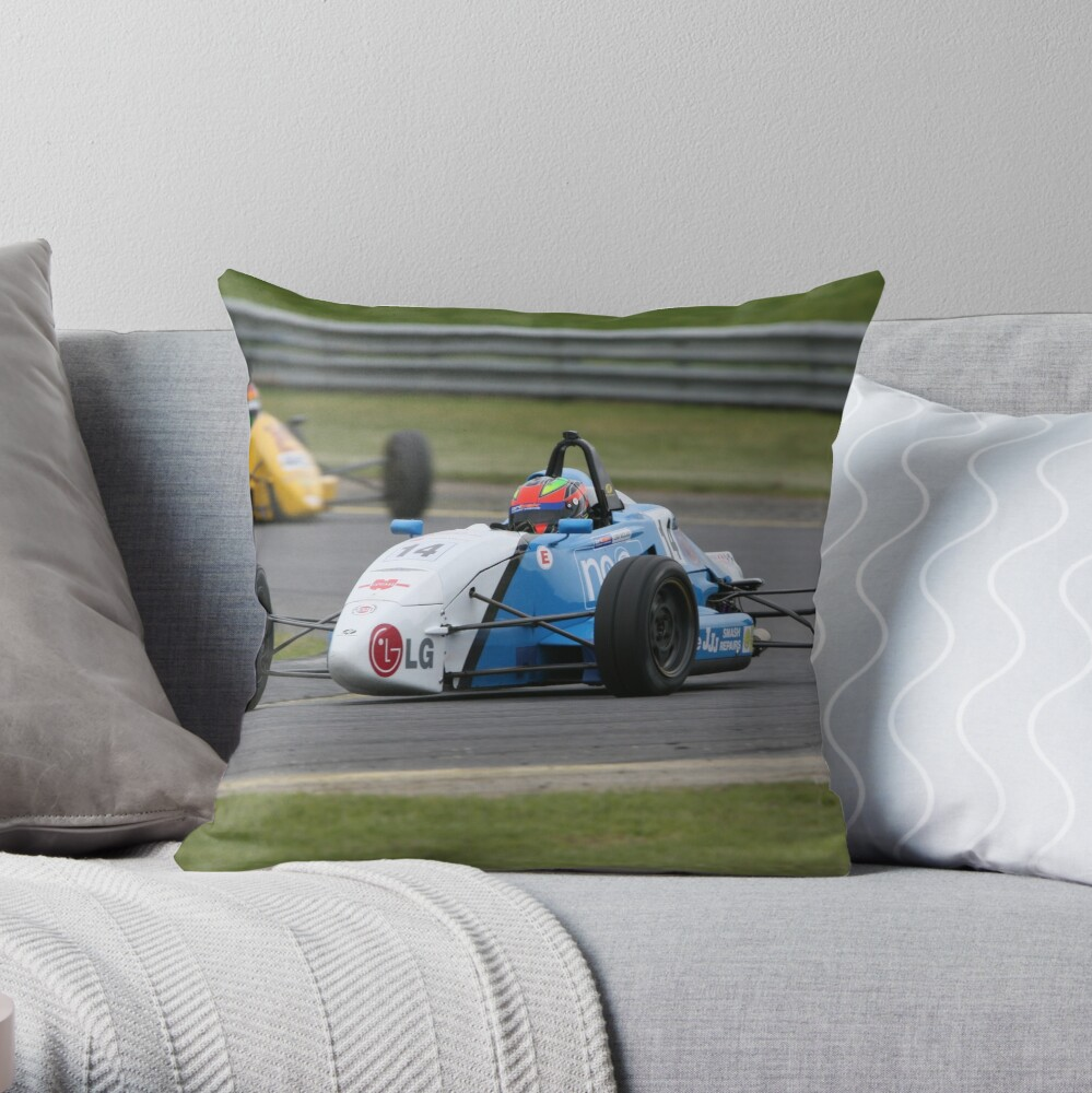 Staying ahead Throw Pillow