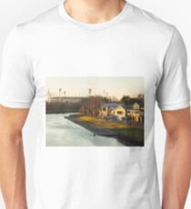 MCG with boat houses Unisex T-Shirt