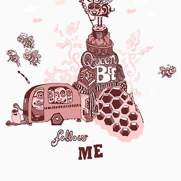 Queen Bee Follow Me by juicyapple
