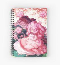 Cuaderno de espiral Rosa y León