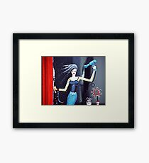 California Girl Framed Print
