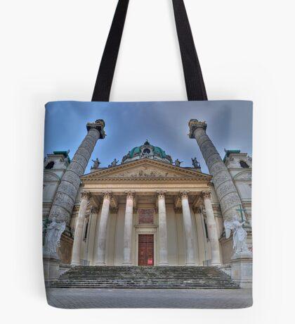 Karlskirche - Guardian Angels Tote Bag