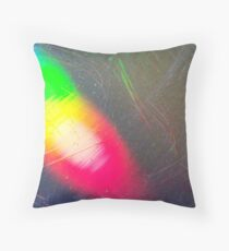 Mystery X - Scratched CD Throw Pillow