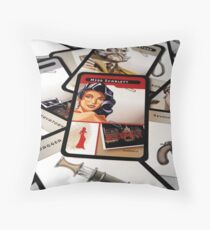 Who Dunnit Throw Pillow