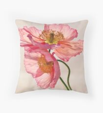 Like Light through Silk Throw Pillow