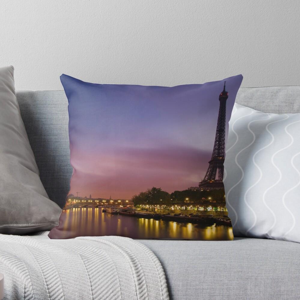 Paris, France. Throw Pillow