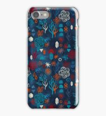 Earth, Water, Fire, Air - a watercolor pattern iPhone Case/Skin