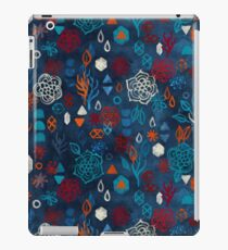 Earth, Water, Fire, Air - a watercolor pattern iPad Case/Skin