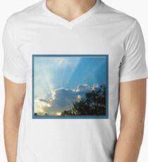 Guitare Players Cloud Men's V-Neck T-Shirt