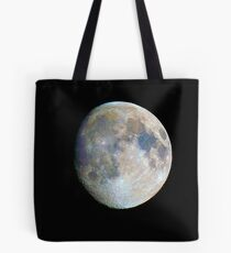 moon in colour Tote Bag