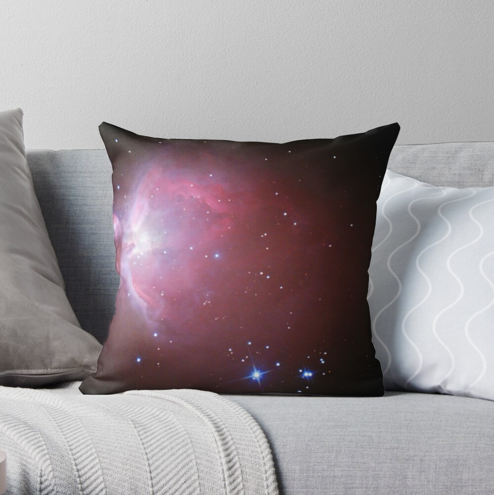 M42 nebula in orion Throw Pillow