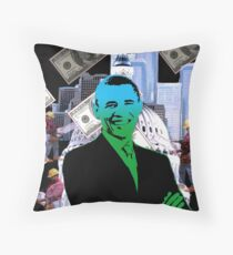 Faith in Barack Obama in the economy Throw Pillow