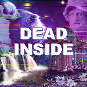 dead inside vaporwave by FandomizedRose