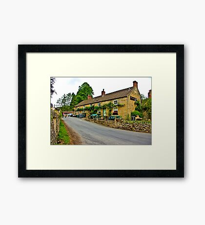 Blacksmiths Arms - Lastingham Framed Print