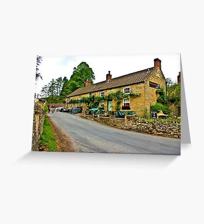 Blacksmiths Arms - Lastingham Greeting Card