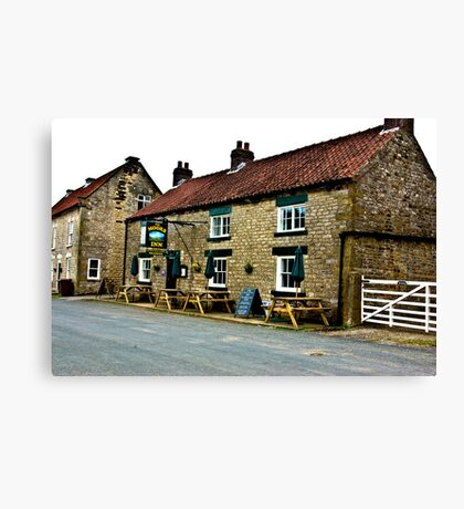 The Moors Inn  -  Appleton-le-Moors  Canvas Print