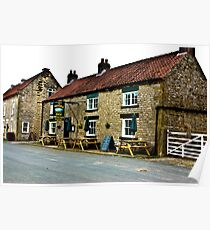 The Moors Inn  -  Appleton-le-Moors  Poster