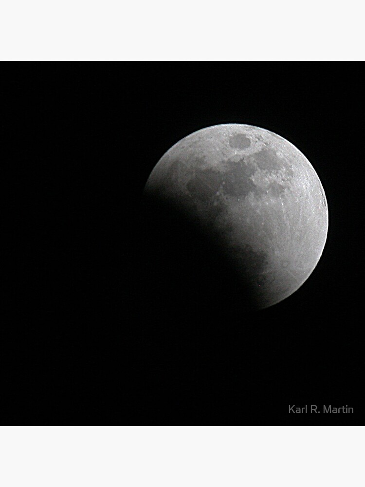 Moon during Eclipse by SirEagle