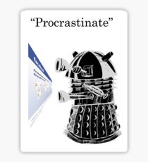 Facebook Procrastinator Sticker