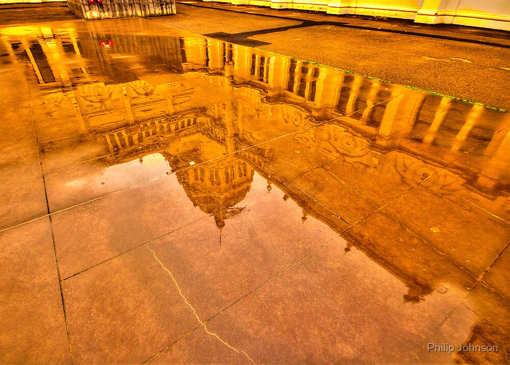 Reflections In Time  - Royal Exhibition Building, Melbourne - The HDR Experience by Philip Johnson