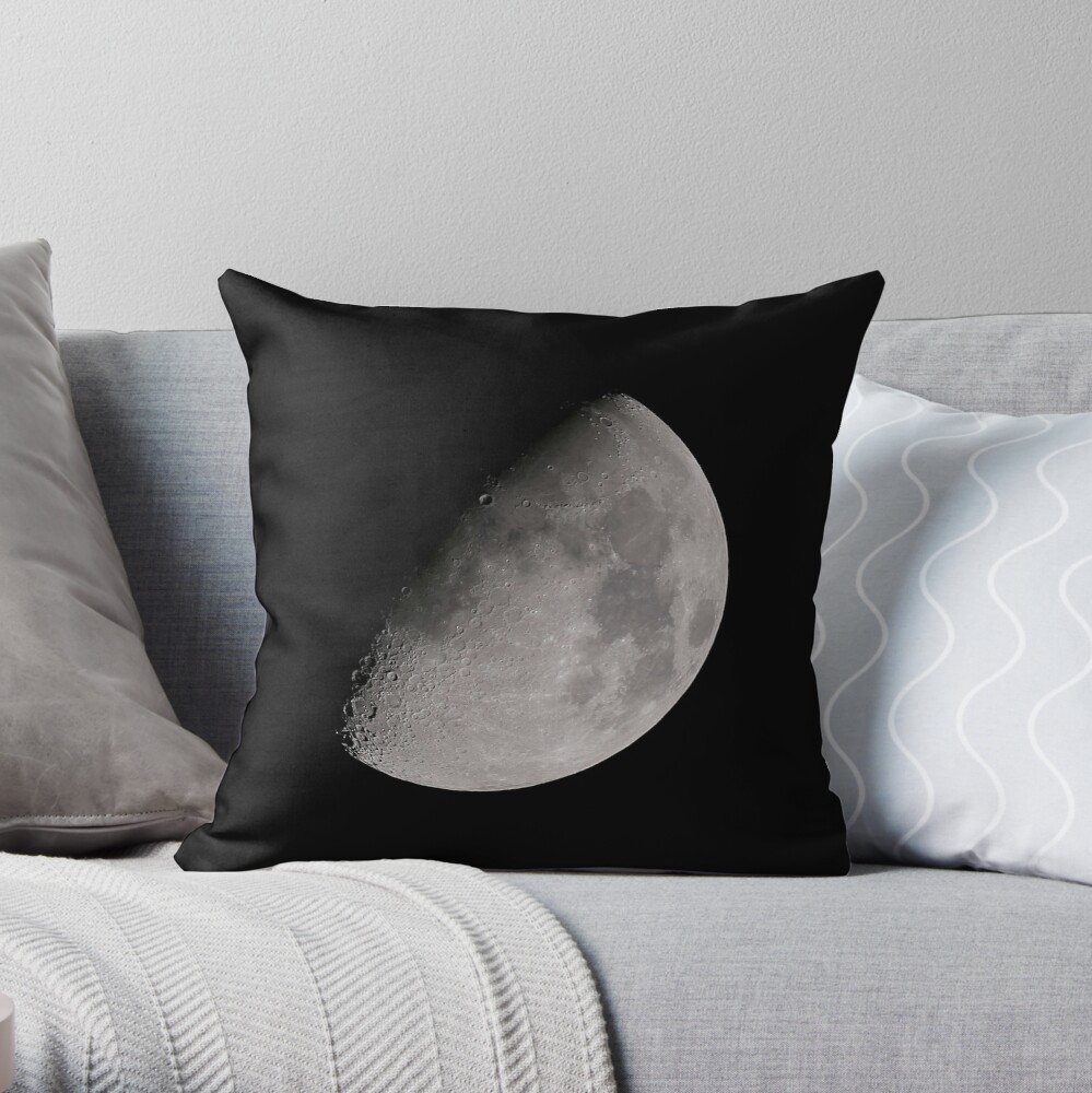 THE MOON PART 2 Throw Pillow