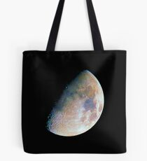 The moon in colour Tote Bag