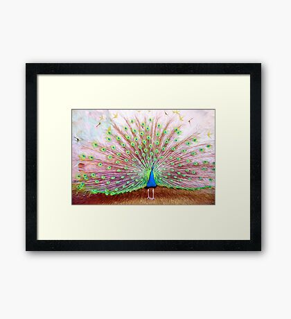 The Grand Show Framed Print