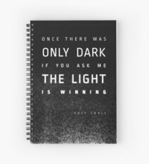 LIGHT vs. DARK Spiral Notebook