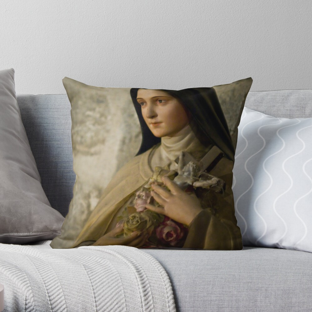 From an agnostic point of view Throw Pillow