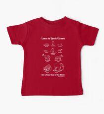 Learn to Speak Ciyawo: Get a Yawo View of the World (for dark shirts) Baby Tee