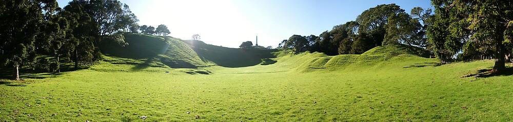 One Tree Hill Panorama  by Adam Jones