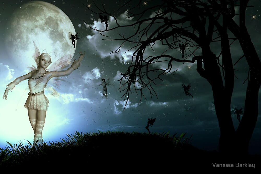 Beckoning By The Moon by Vanessa Barklay