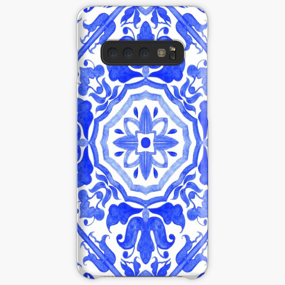 Portuguese azulejo tiles.  Case & Skin for Samsung Galaxy