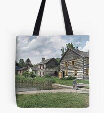 Old Bedford Village Tote Bag