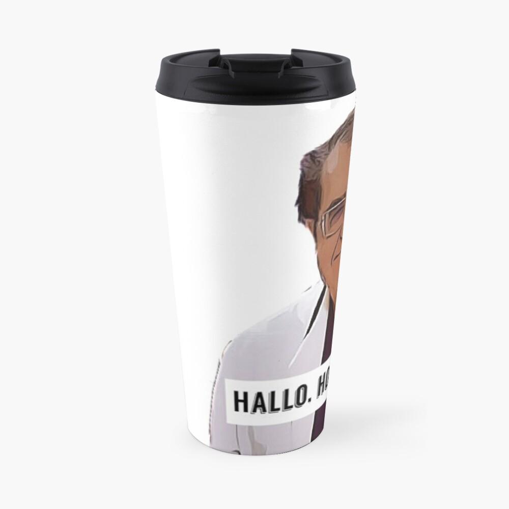 Dr Now - Hallo, how ya all doin, digital artwork Travel Mug