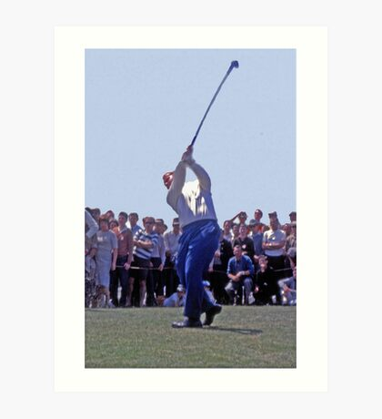 Golfing Legends: Jack Nicklaus - Australian Golf Open, The Lakes, Sydney, 1964 Art Print