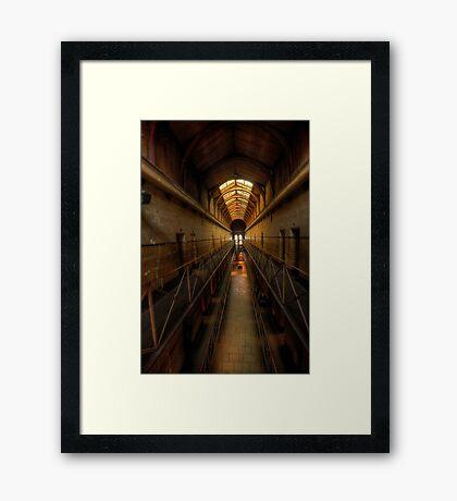 Porridge - Old Melbourne Gaol, Melbourne - The HDR Experience Framed Print