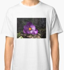 The First Crocus Celebrating Spring Classic T-Shirt