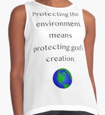 Protecting the creation Sleeveless Top