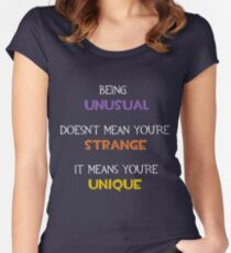TF2 - You Are Unique Women's Fitted Scoop T-Shirt