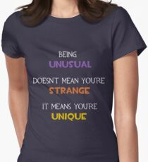 TF2 - You Are Unique Women's Fitted T-Shirt